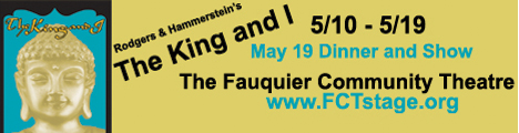 Fauquier Community Theatre presents The King and I