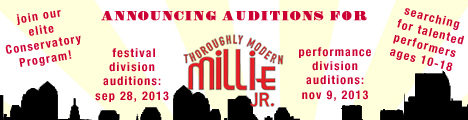 The Lopez Summer Conservatory of Theatre Presents Auditions for Thoroughly Modern Millie Jr.