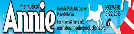 Main Street Theater Productions presents Annie