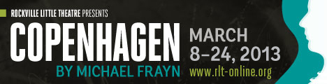 Rockville Little Theatre Presents Copenhagen