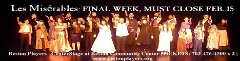Reston Community Players Presents Les Miserables