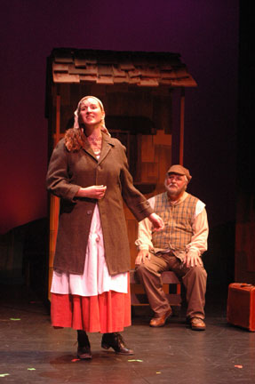 Mike: In The Second Act, Hodel, Played By Anne Marie Pinto, Had A Solo That  She Sang To Tevye While Waiting To Catch A Train. That Was Really Good.