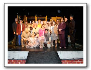 Urinetown Cast Photo