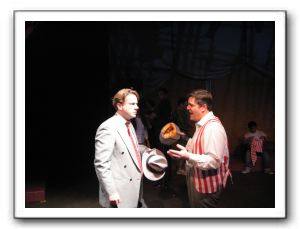 Patrick McMahan as Terry, and Christopher Smith as Buddy
