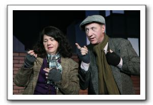Janet Devine Smith as Fran and Ted Ballard as Grover