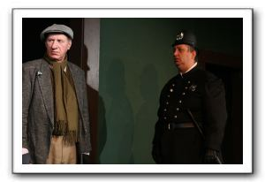 Ted Ballard as Grover (left) and Greg Crowe as Guido Carolyn