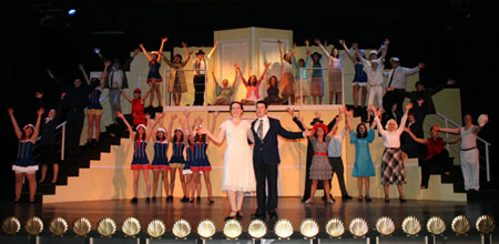 Cast of Paul VI High School Anything Goes