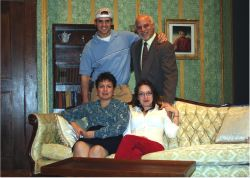 Jackson Dismukes and Jim Epstein; Lori Sampson and Alexandra Smith