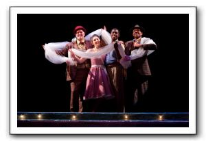 Michael Stone Forrest as Hucklebee, Addi McDaniel as Luisa, Timothy Ware as Matt and Jerome Lucas Harmann as Bellomy