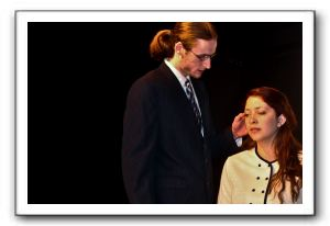Measure for Measure (Mark Tucker as Angelo and Julia Sears as Isabella)