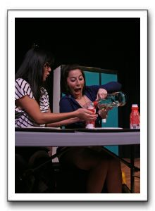 Kat Sanchez (Marcy) and Nicole Jacobs (Tricia)