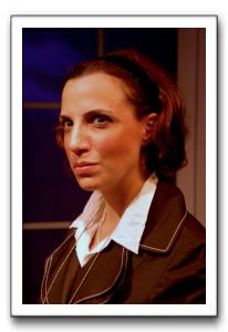 Mary Frances Dini as the Female Detective