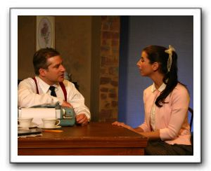 Brian Turley (Morty) & Lauren Uberman (Rose)