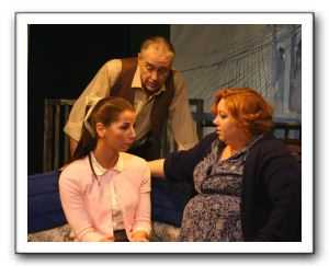 Lauren Uberman (Rose), Gordon Adams (Shelly) & Sally Cusenza (Naomi)