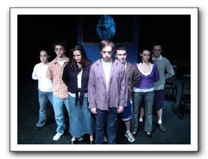 Lenora Spahn (Faith), Josh Greenwald (AP), Erin Stansfield (Rebel), Ryan Manning (Freak/Eric), Ben Davis (Jock), Amy Baughman (Perfect), Tim Phelps (P