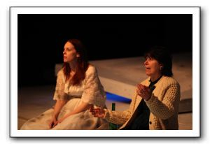 Kelley Slagle as Hester Swane, left, with Susan Holliday as Monica Murray