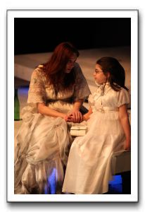 Kelley Slagle as Hester Swane, left, with Sydney Maloney as her daughter, Josie Kilbride