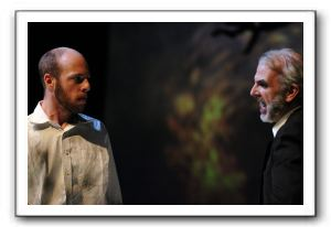 Ryan Tumulty as Carthage Kilbride, left, and Mark O'Brien as Xavier Cassidy