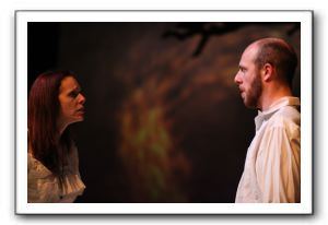 Kelley Slagle as Hester Swane and Ryan Tumulty as Carthage Kilbride