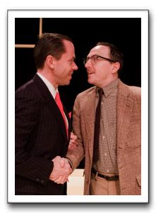 Steve Lebens as Irving LaSalle; Donald Osborne as George MacCauley