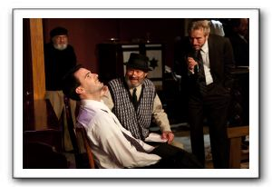 Richard Fiske as Foreman, Craig Miller as Hirschman the Cabalist, Steven Quartell as Arthur, Mick Tinder as Zitorsky, Ron Sarro as Schlissel, Kari Gin