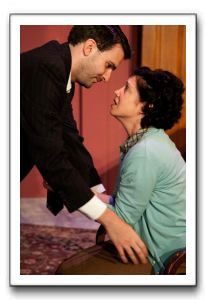 Steven Quartell as Arthur, Kari Ginsburg as Evelyn