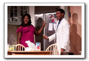 Amber Iman as Cheryl and Billy Eugene Jones as Flip