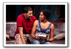 Jason Dirden as Kent and Nikkole Salter as Taylor
