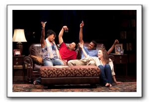 Nikkole Salter as Taylor, Jason Dirden as Kent, Billy Eugene Jones as Flip and Rosie Benton as Kimber