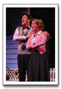Joel Piper (Jimmy) and Jaclyn Young (Mary Lane) - Shakespeare