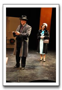 Bill Brown and Stephanie Bonte-Lebair portray the lead roles of Georg and Amalia in She Loves Me.