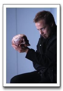 Graham Michael Hamilton as Hamlet