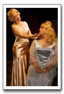 Mae West (Rachel Hardin) and Mr. Mae West (Matthew G. Myers)