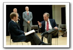 Derek Bradley as David Frost, Mario Font as Swifty Lazar, Mar