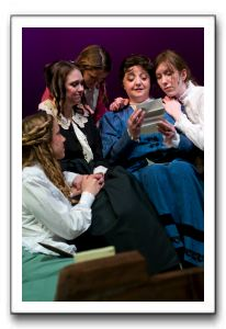Maddy Curtis as Beth Jolene Vettese as Meg June Schreiner as Amy Lisa Anne Bailey as Marmee with Mimi Preda as Jo