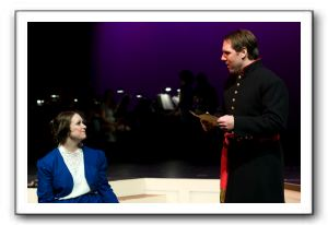 Jolene Vettese as Meg with Mark Hamberger as John Brooke performing More Than I Am
