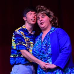Aaron Fellows (Wilbur Turnblad), Jason Guerrero (Edna Turnblad)