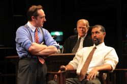 Brennan Brown as Rufus Buckley, Evan Thompson as Judge Omar Noose and Dion Graham as Carl Lee Hailey