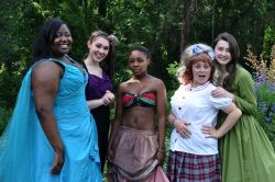 Lead Actress in a Musical - Anitra McKinney (Duke Ellington), Emily Madden (Walt Whitman), Lintle Motsoasele (Wakefield), Maggie Roos (Woodrow Wilson), and Emily Whitworth (Mount Vernon)