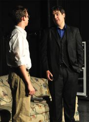 Josh Eddy (as Howard Siegel) and Mick Sloan (as Mercer Stevens)