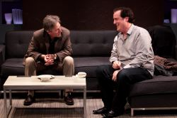 John Lescault (as Serge) and Michael Russotto (as Yvan) share a laugh