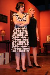 Jamie Bazen as Polly Meara, Meredith Fogle as Toby Landau