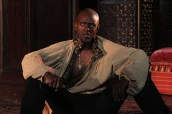 Owiso Odera in the title role of Shakespeare's Othello