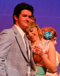 Sam Jones as Link; Christina Kidd as Amber