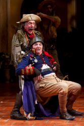Floyd King as Verges and Ted van Griethuysen as Dogberry