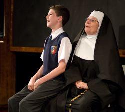 Cam Magee as Sister Mary Ignatius, Colin Trinity as Thomas