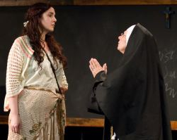 Anne Nottage as Philomena, Cam Magee as Sister Mary Ignatius