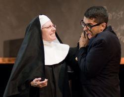 Cam Magee as Sister Mary Ignatius, Arturo Tolentino as Aloysius