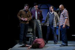 Jack Powers, Christopher Herring, Cyle Durkee, Christopher C. Holbert. On floor: Tyler Herman