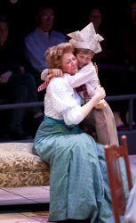 Kimberly Schraf as Lily Miller and Thomas Langston as Tommy